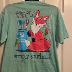 Simply southern short sleeve tee shirt